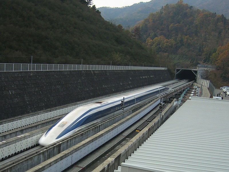 Maglev Train in Japan